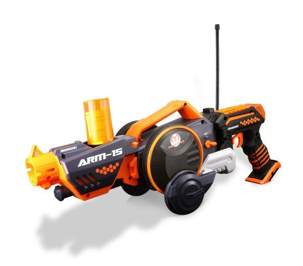 [Amazon-Marketplace] Maisto 581192 - R/C Armered Attack  -- Handwaffe lässt sich manuell in ein RC-Fahrzeug umwandeln