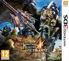 Monster Hunter 4 Ultimate 3DS für 23,78€ oder Mario&Sonic at the olympic Winter Games 2014 (Spanische Verpackung) Wii U für 12,55€ @thegamecollection.co.uk via rakuten.co.uk mit Gutschein SPREE5