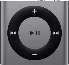 [Saturn Late Night] APPLE iPod shuffle 4G 2GB space grey/silber/blau für 34,99 mit NL