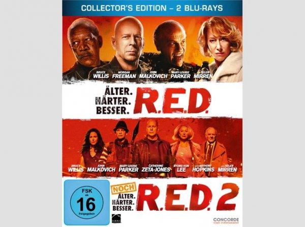 [Blu-Ray] RED 1+2 Steelbook für 9,99€ @Saturn und Amazon
