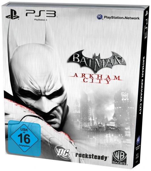 (Amazon.de-Prime-WHD) Batman: Arkham City Steelbook PS3 Zustand Wie Neu 8,51€