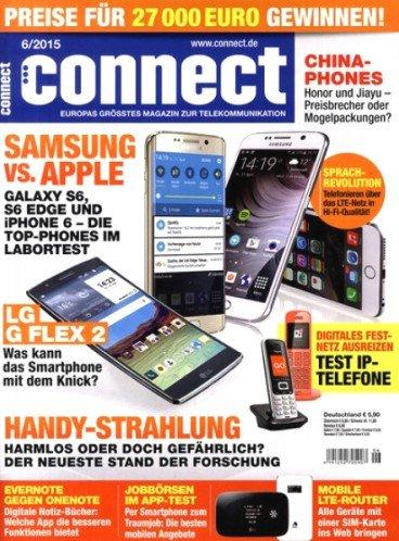 """4 Ausgaben """"Connect"""" mit 10€ Universalgutschein für 13,90€"""