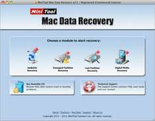 MiniTool Mac Data Recovery kostenlose Vollversion - Datenrettung