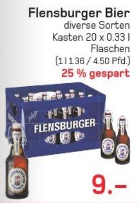 [Lokal Wuppertal Steinbeck] Flensburger (20 x 0,33l)