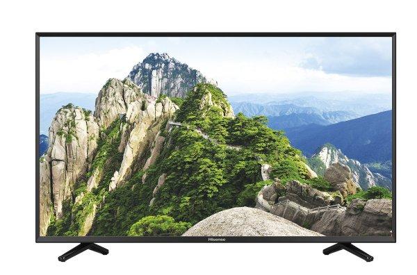 Hisense LTDN50K220 50 Zoll LED Fernseher (Full HD, 100Hz SMR, DVB-T/C/S2, Smart TV, WLAN, CI+, EEK A) für 350€ @amazon.de