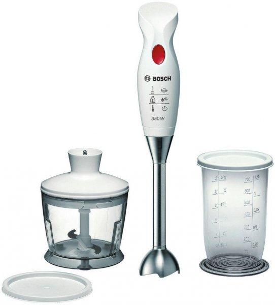 Bosch MSM6BRE, Stabmixer-Set (350 Watt, weiß/rot) Versandkostenfrei für 25,00€ @Saturn.de