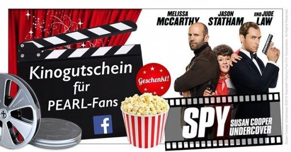 Kinogutscheine für den Film Spy Gratis zzgl. Versand auf Twitter entdeckt