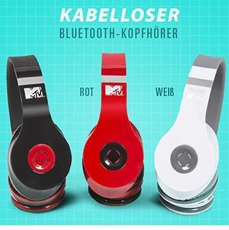 MTV Bluetooth Over-Ears für 35€