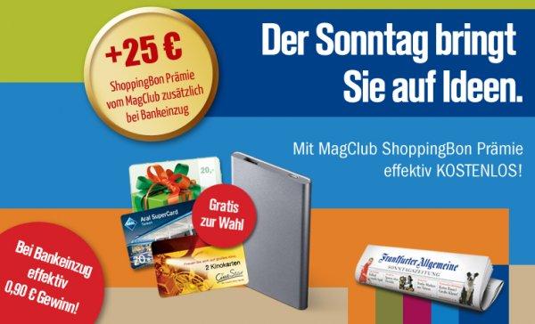 """FAS oder auch """"FAZ am Sonntag"""" ;-)  /  3 Monate effektiv gratis lesen"""