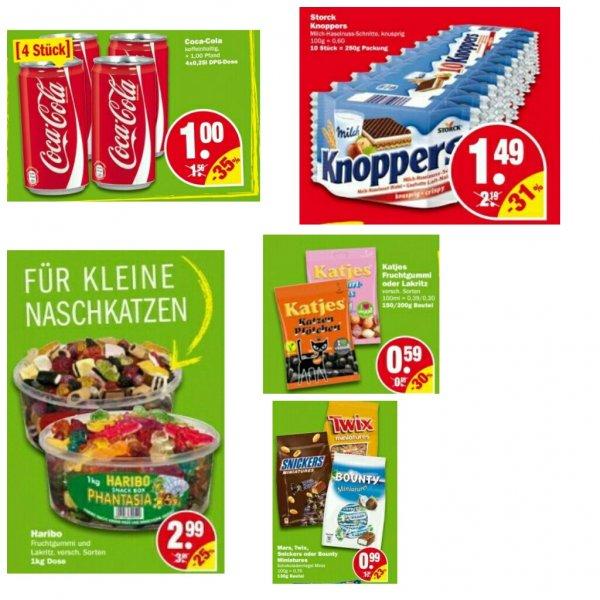 [NP - Discount] Angebote - Prospekt 26.05. - 30.05. / Haribo 1Kg Dose - Mars, Twix, Snickers & Bounty Miniatures - Katjes - Coca Cola Dosen - Knoppers