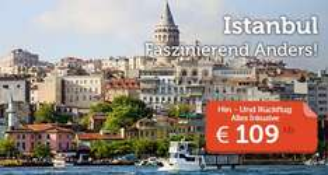 Turkish Airlines von DE nach Istanbul ab 109€
