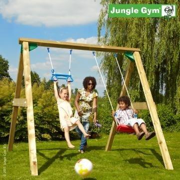 Jungle Gym Swing Schaukel Holz Spielzeug Kinder, 178,- EUR @ steinershopping