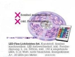 LED Flex Lichtleisten Set (regionlal XXX Lutz Augsburg)