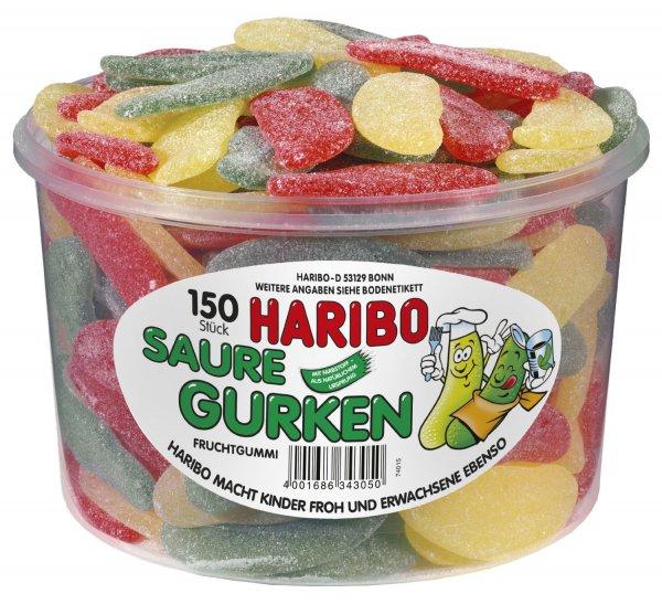 @ Amazon: Haribo Saure Gurken,3er Pack (3x 1.35 kg Dose) für 9,99€ = 2,46/kg / Idealo ab 9,24 €/kg - und weitere Preisfehler u.a.  Weiße Mäuse und Colaschlangen