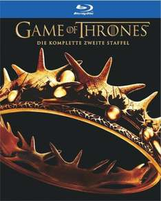 (grooves-inc.de) Game of Thrones - Staffel 2 (Blu-Ray) für 15,49€