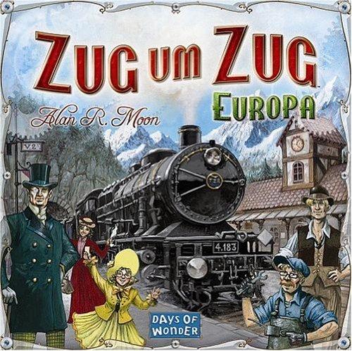 [völkner] Zug um Zug Europa mit 5 Euro Gutschein 22,99 inkl. Versand (Sofortüberweisung)