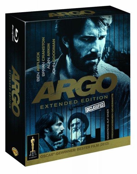 (Amazon.de-Prime) Argo  Extended Cut Blu-ray - Collector's Edition 9,99€