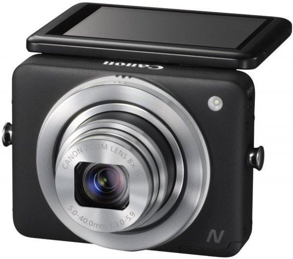 Canon PowerShot N schwarz für 139,44 € @Amazon.it