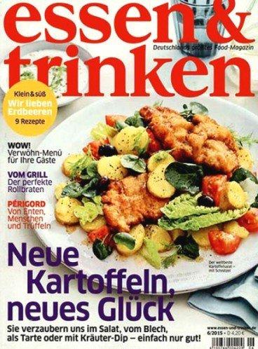 """6 Ausgaben """"Essen & Trinken"""" für 15,80€ mit 15,00€ Allyouneed-Gutschein – Effektivpreis: 0,80€"""