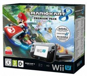 """[RAKUTEN HOT DEALS] Nintendo Wii U Premium Pack schwarz inkl. Mario Kart 8 (32GB) für ADAC Mitglieder mit Gutscheincode """"BEQMBZ"""" sogar für 249 €"""