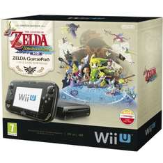 Wii U Konsole Premium Pack 32 GB schwarz inkl. GamePad + The Legend of Zelda WindWaker HD für 246,61 € @Amazon.co.uk
