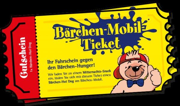 [diverse Städte] Gratis SchlaWiener Hot-Dog am Bärchen-Mobil mit dem Bärchen-Ticket