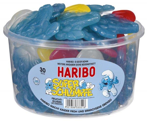 Amazon: Haribo Super-Schlumpf,3er Pack (3x 1.44 kg) Nur 11,45 €  EUR (6,50 + EUR 4,95 Versandkosten )( Größere Mengen nur 1 x Versand)