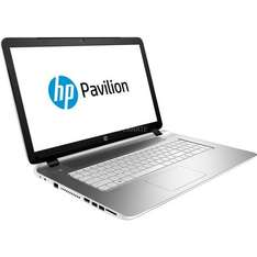 "HP Notebook 17,3'' ""Pavilion 17"" (L2V34EA) (silber, Windows 8.1 64-Bit) @ ZackZack.de"