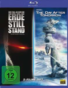 [Saturn] [Blurays im Doppelpack für 7€ + versandkostenfreie Lieferung] Der Tag, an dem die Erde still stand + Day after Tomorrow *** Monuments Men + Der schmale Grat *** Street Kings 1+2