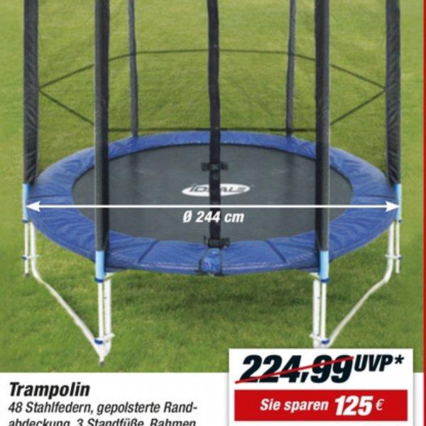 Toom Intertek Trampolin 244cm