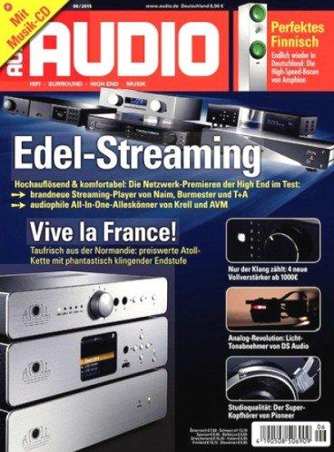 """4 Ausgaben der Zeitschrift """"Audio"""" für 13,90€ mit 10,00€ Universal-Gutschein – Effektivpreis: 3,90€"""