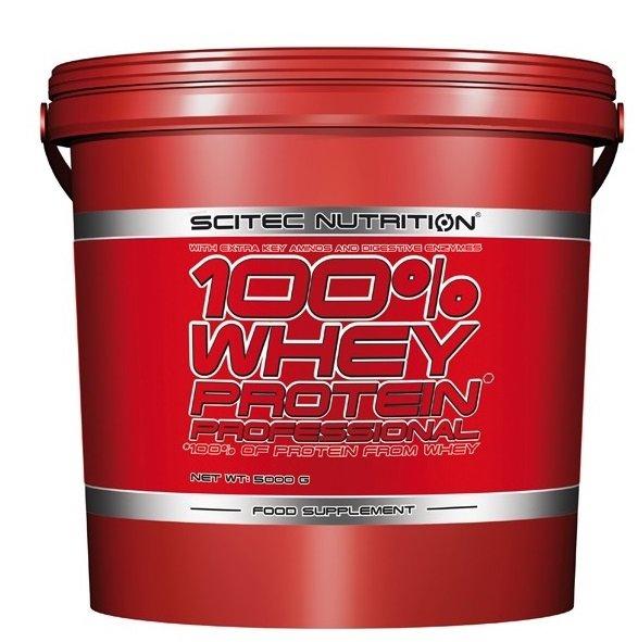 Scitec 100% Whey Protein 5 KG für 76,-€ inkl. Versand