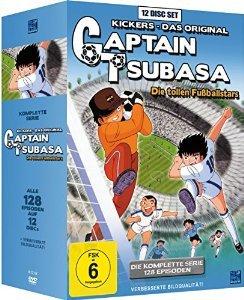 (amazon.de) Captain Tsubasa: Die tollen Fussballstars - Die komplette Serie (DVD) für 33,97€