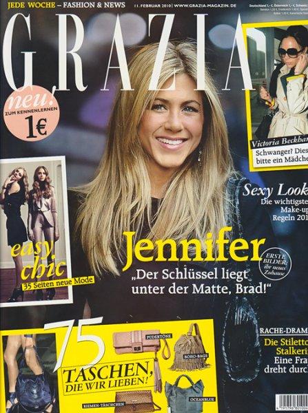 26 Ausgaben ( 6 Monate ) Grazia for free
