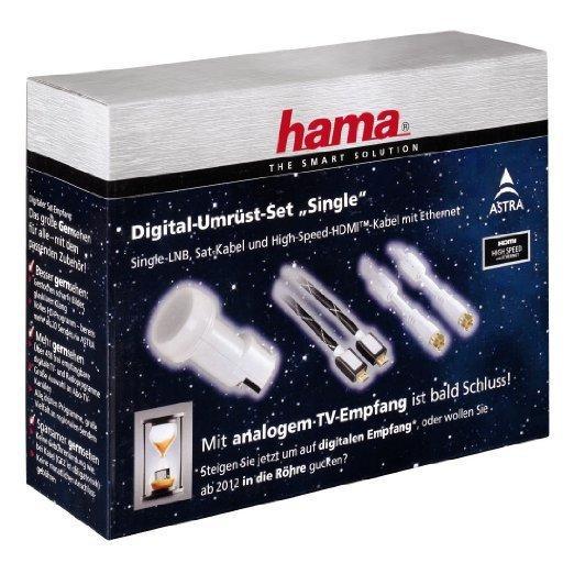 HDMI-Kabel1,5m+Single-LNB+Sat-Kabel für 1,19€ + 2,98 Porto mit Versandrabatt