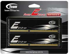 8GB KIT - TeamGroup Elite Black - PC3-12800 DDR3-1600 - CL11 @ HOH.de