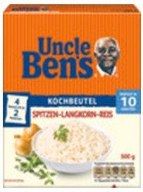 [SCHECK-IN CENTER Bundesweit] Uncle Bens Reis 500g-Packung oder Sauce 400g-Glas für nur 0,49€ (Angebot+Coupon)