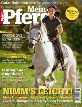 """Zeitschrift """"Mein Pferd"""" Mini Abo für 7,90€ inkl 15€ Loesdau Gutschein"""