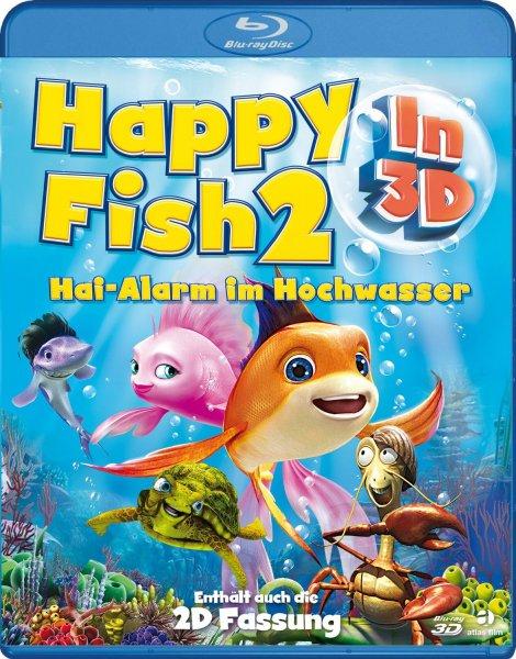 Happy Fish 2 - Hai-Alarm im Hochwasser 3D - Blu-ray 3D + 2D 3,97€ mit Prime