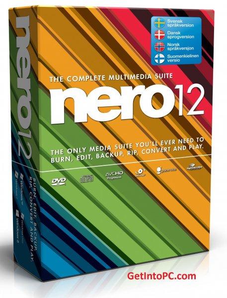 Nero12 für Windows 8 gratis