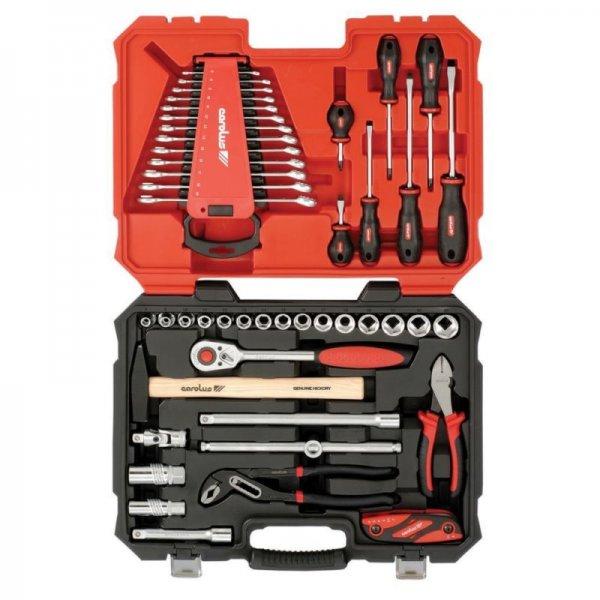 [eBay.de] Carolus SOLIDline Universal-Werkzeug-Satz 54-tlg im Kunststoffkoffer