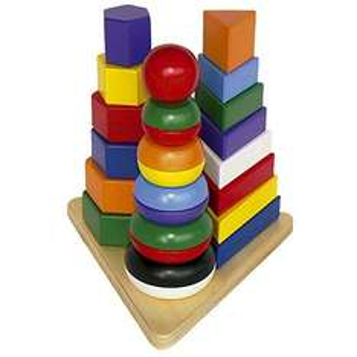 "Legler Pyramide ""3 in 1"" für 11,94€ bei Amazon (Prime)"
