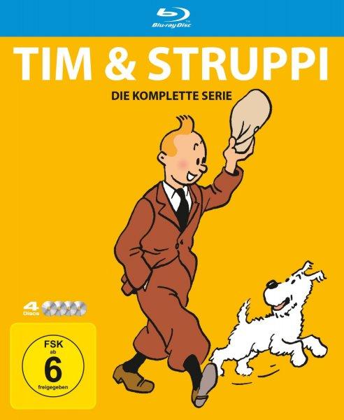 Tim & Struppi - Die komplette Serie [Blu-ray] für 21,99€ @Amazon.de (Prime)