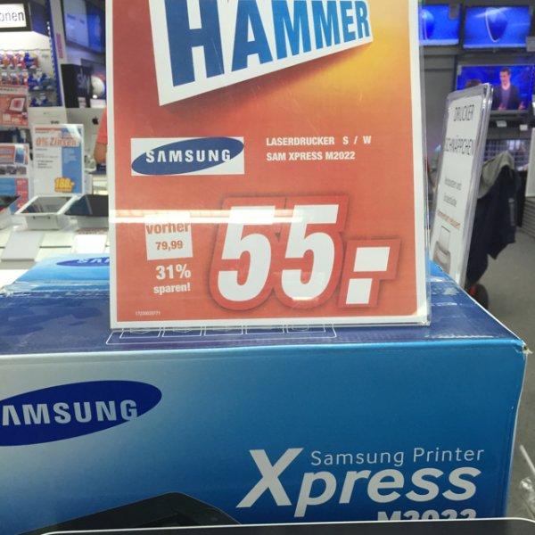 Samsung Laserdrucker ! Klein,fein,Wlan,schwarzweiss - 55 Euro (Lokal Neuss Expert ?)