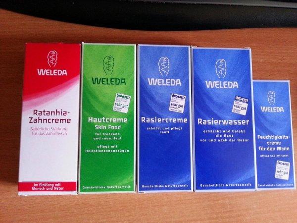 [REAL MAINTAL] Weleda Produkte drastisch reduziert Rasiercreme/Rasierwasser/Feuchtigkeitscreme/Hautcreme/Deo usw.