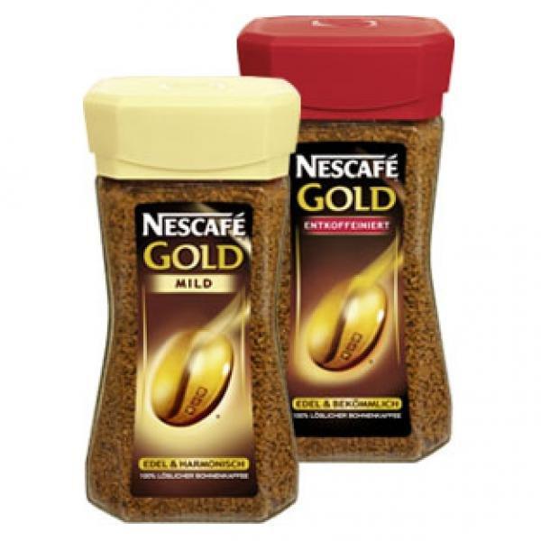 [Lidl bundesweit] NESCAFÉ Gold 200gr nur 5,99€ versch. Sorten
