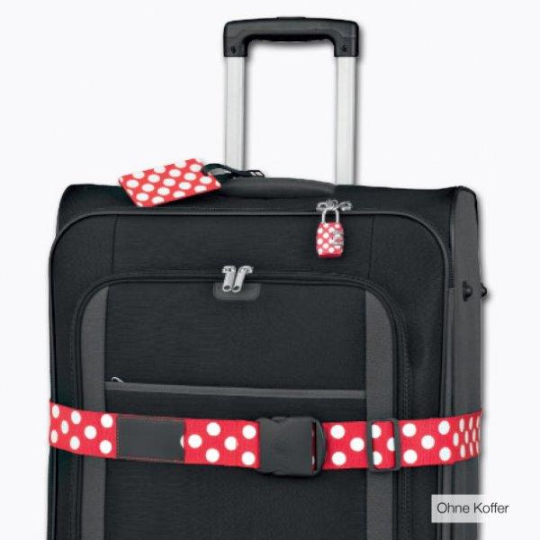 [Aldi] Koffergurt 2er-Set oder 2-Wege-Koffergurt oder TSA Koffer-Schloss 2er-Set oder Adressanhänger 3er-Set
