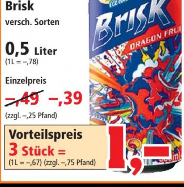 [Thomas-Philipps] Brisk Icetea 0,5 L für nur 0,39 €