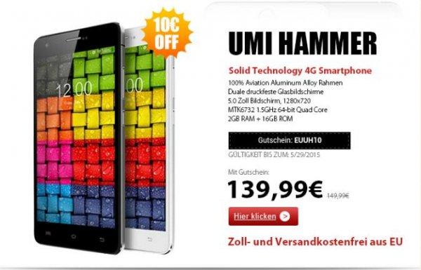 UMi  Hammer aus EU Lager für 139 €