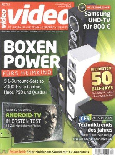 """4 Ausgaben """"Video HomeVision"""" für 13,90€ mit 10,00€ Universalgutschein – Effektivpreis: 3,90€"""